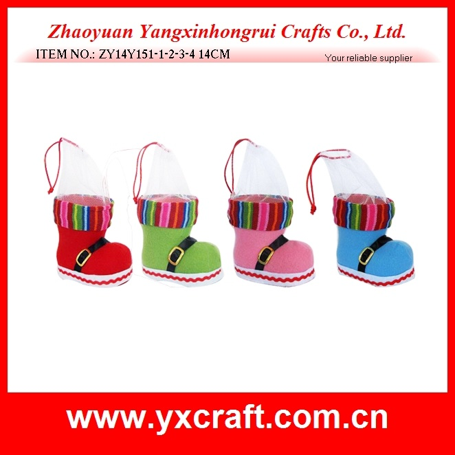 Christmas Boot Promotion Gift Ornament Decoration Craft Product