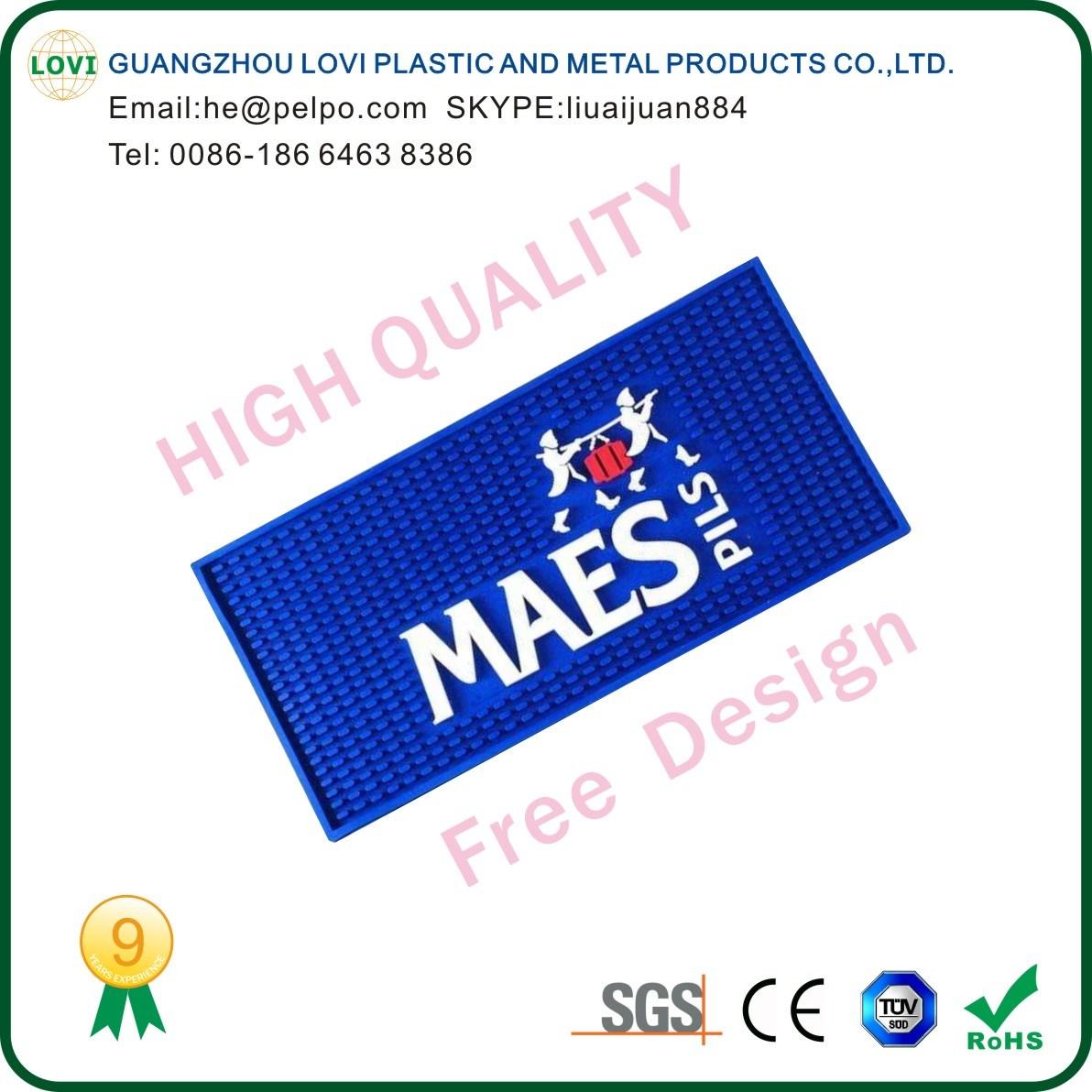 Free Design High Quality Drinking Mat