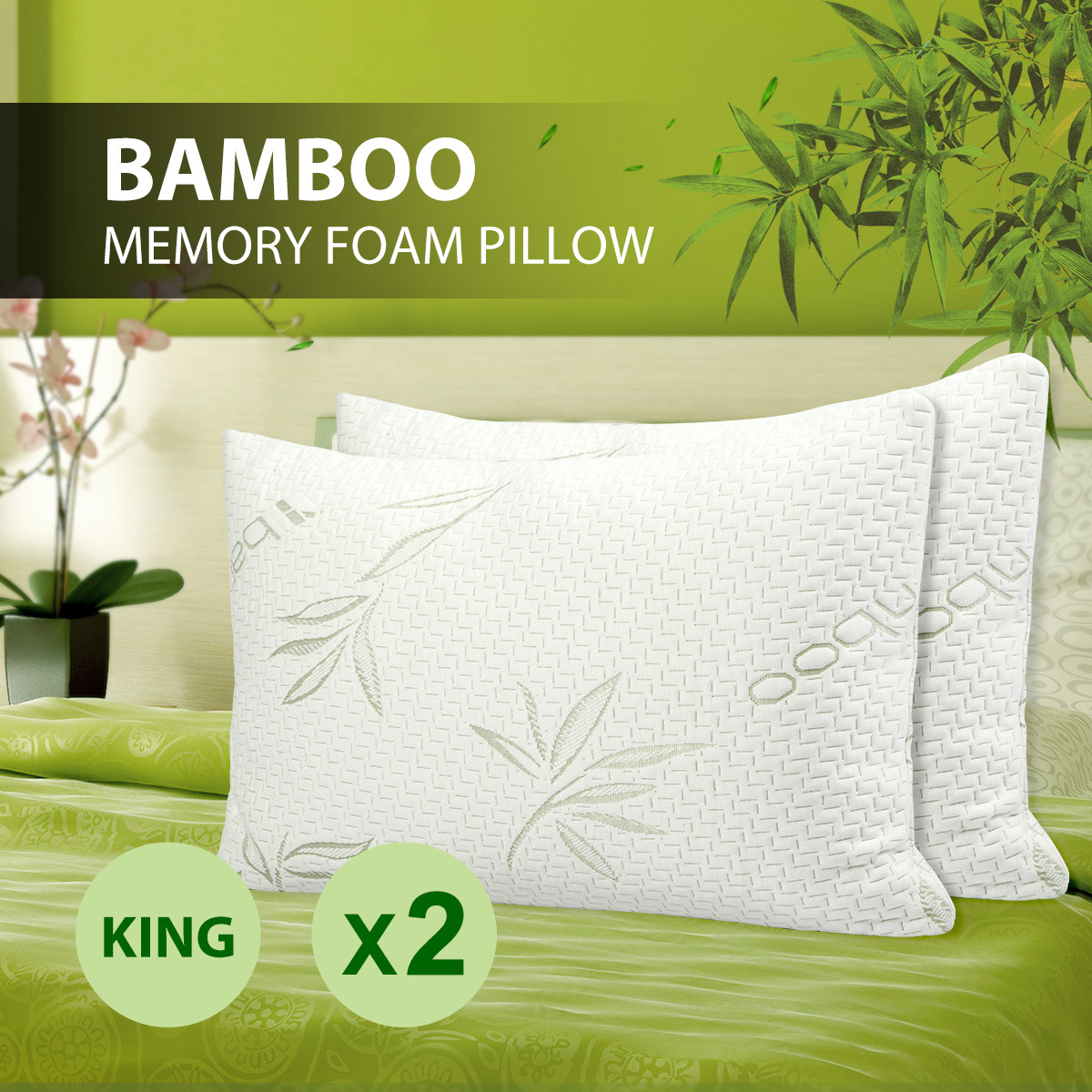 2017 Popular Bamboo Shredded Memory Foam Pillow