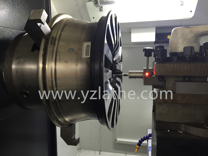 High Precision Alloy Wheel Repair CNC Lathe Machine Wrc26