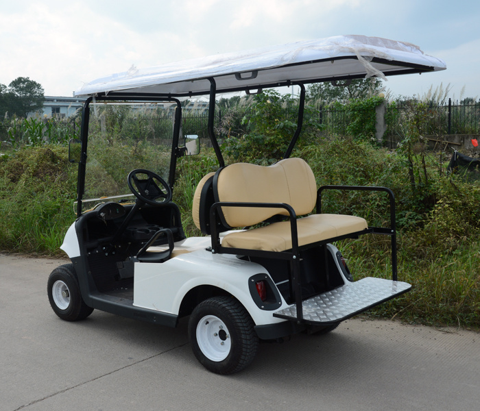 3000 W 2+2 Seats Classic Electric Golf Cart