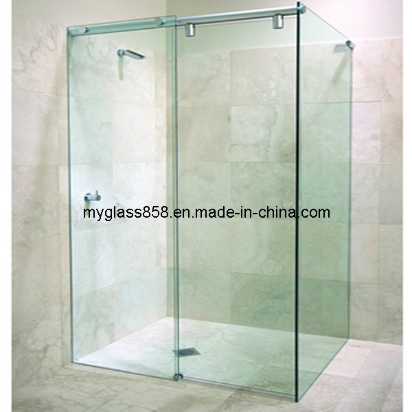 China Clear Tempered Glass For Shower Room Ccl China