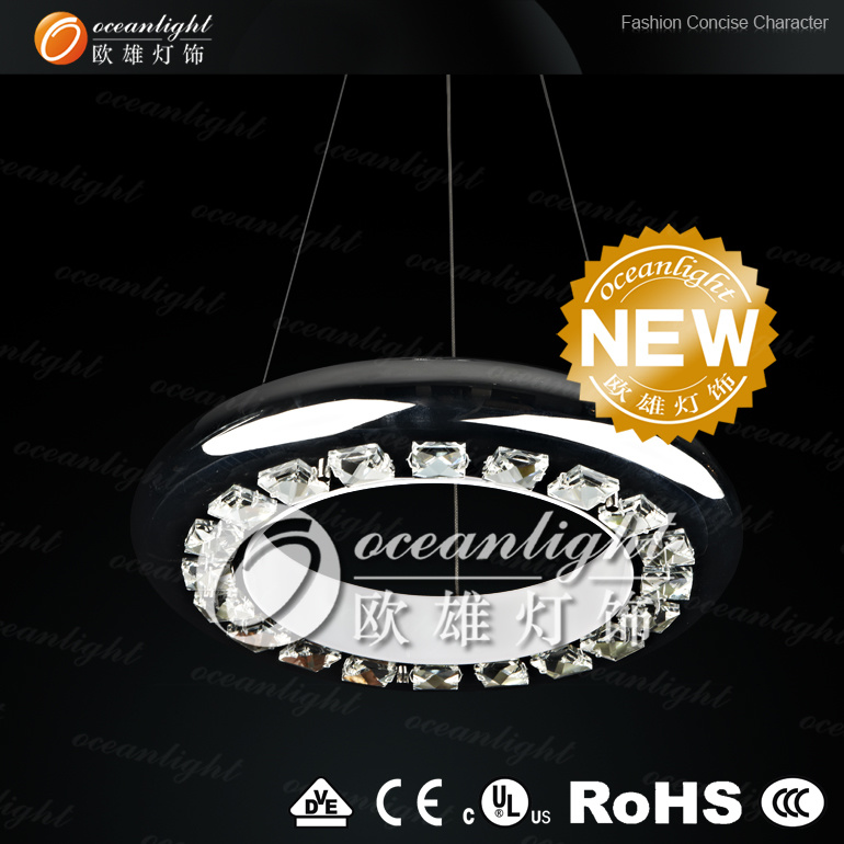 2013 European high power LED crystal chandelier lighting OM88035-D380