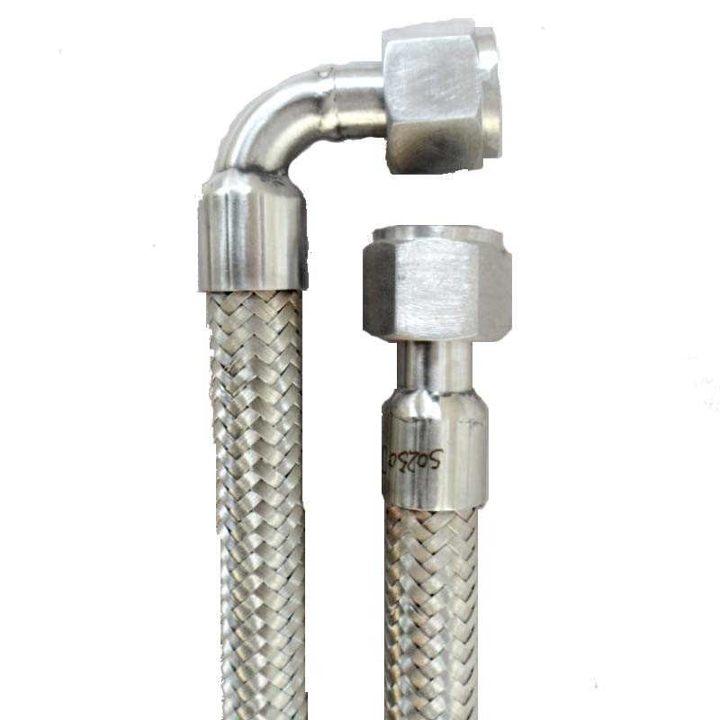 90º C Elbow Angle Stainless Steel Flexible Metal Hose (304 316L)