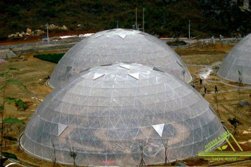 Dome Integrate Greenhouse/ Film Greenhouse / PC Greenhosue / Glass Greenhouse