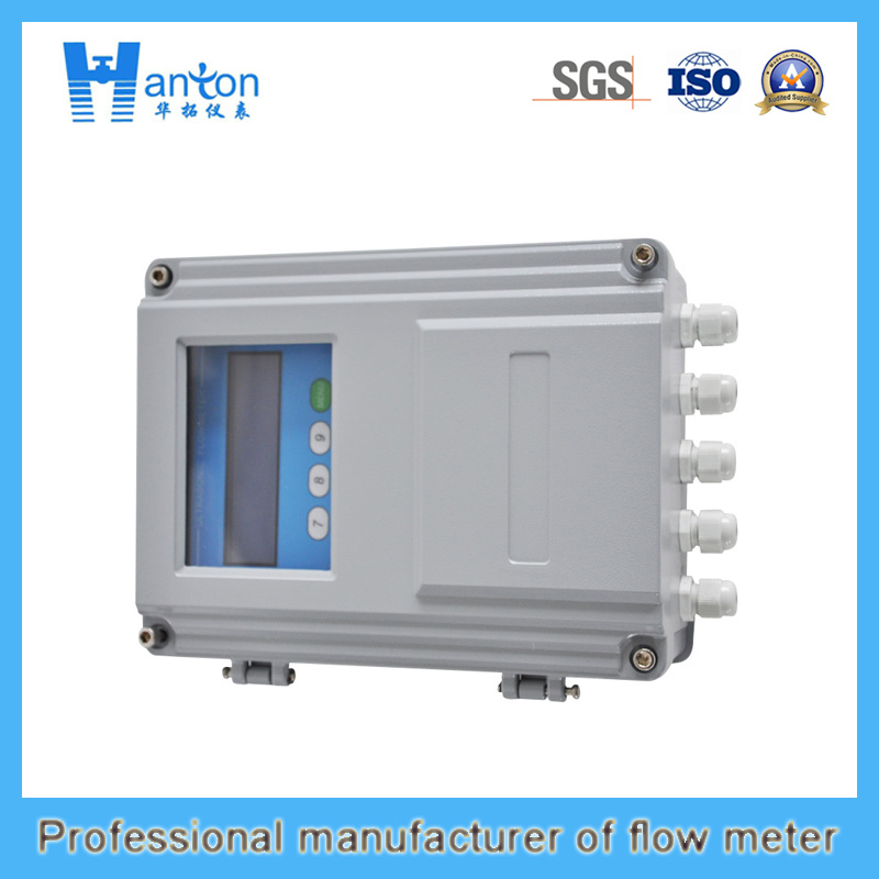 Silver Carbon Steel Ultrasonic Flow Meter (Flowmeter)