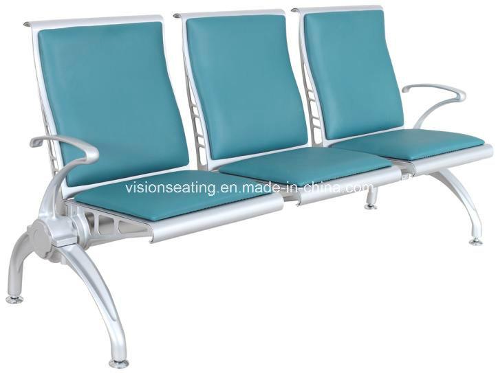 Metal Padded Cushion Airport Waiting Lounge Terminal Area Chair (8105)