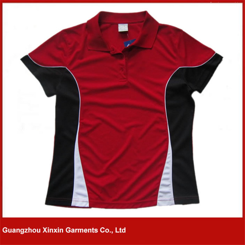 2017 New Design Dri Fit Quick Dry Running Red T Shirts (P60)