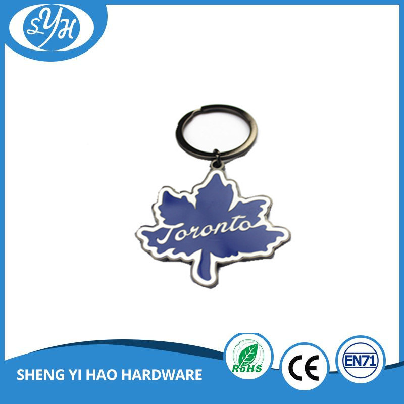 Fashion Design High Quality Enamel Keychain with Epoxy