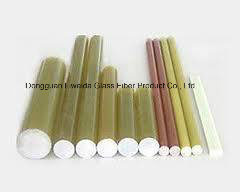 Insulation Epoxy Resin Reinforcing Fiberglass FRP Transparent Rod