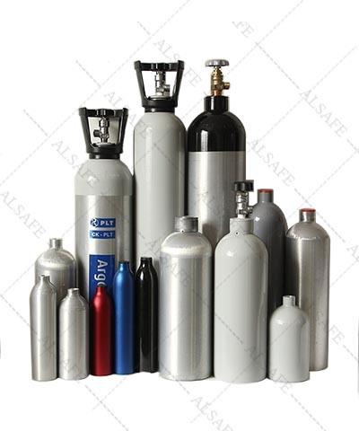0.5liter to 50liter Seamless Aluminum Compressed Air Tank
