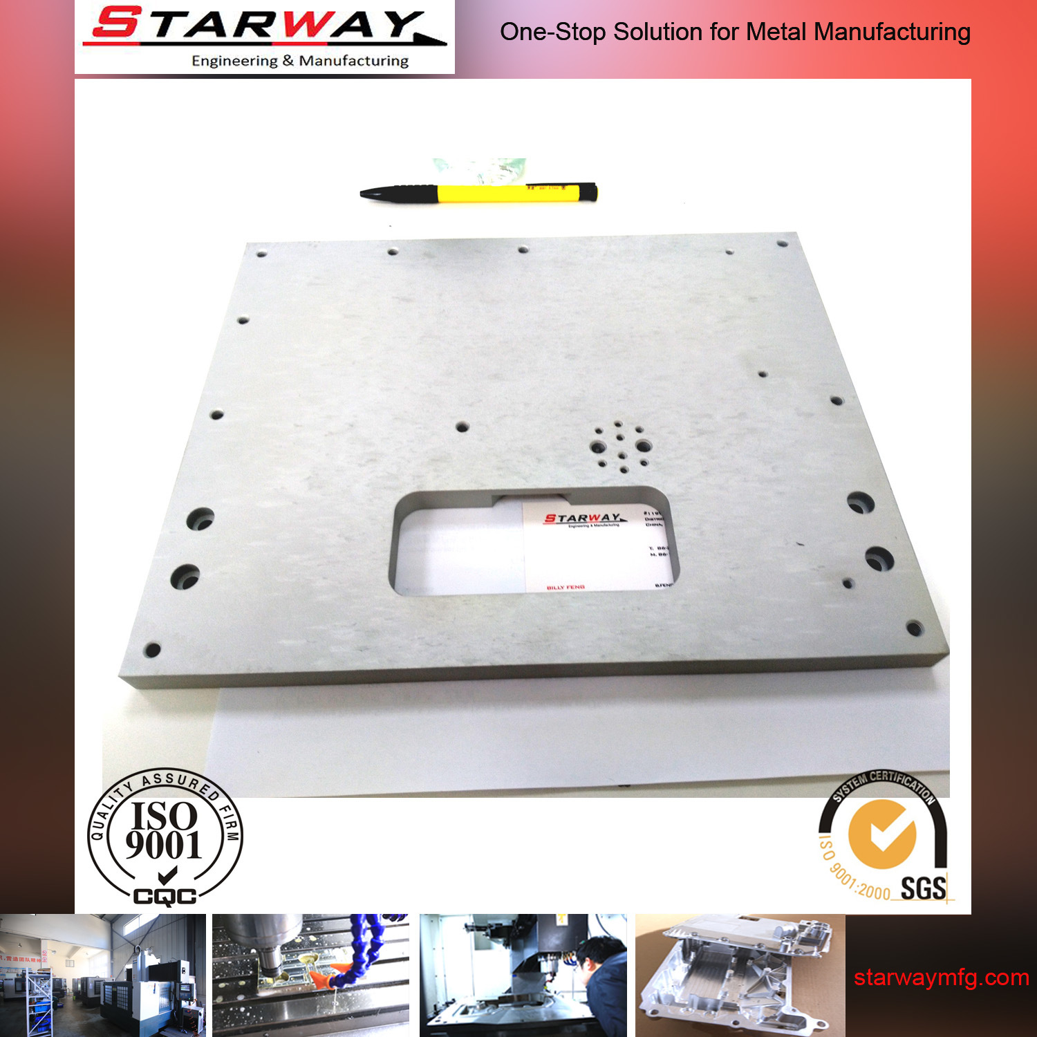 Stamping Sheet Metal Part Sheet Metal Fabrication (sw-918)