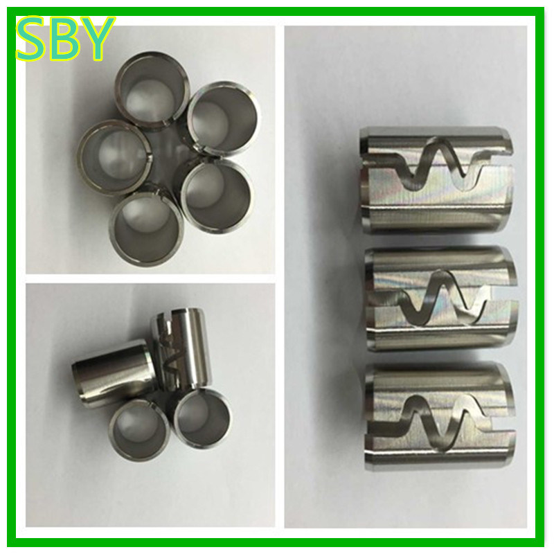 Spring Sleeve CNC Machined Parts with Low Price (P123)