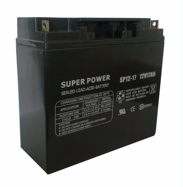 UPS Battery 12V 17ah with CE UL ISO9001 Certificated (SP12-17)