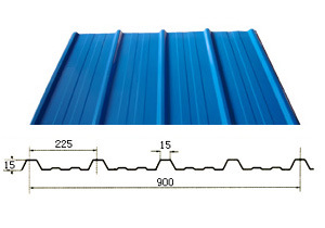 Corrugated Steel Sheet for Roofing and Wall Panel