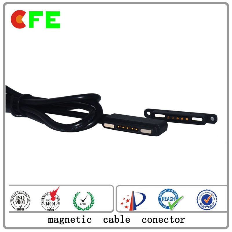 Wearable 5pin Magnetic Power Cable Connectors