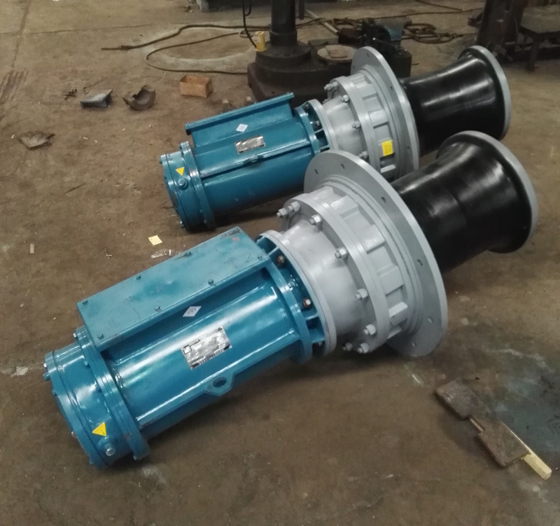 Vertical Type Electric Mooring Capstan