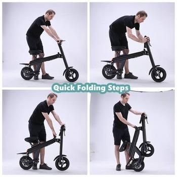 2017 Newest Folding Ebike Unique Design E Scooter