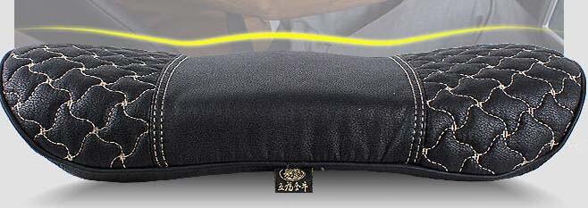 Car Back Support Pillow Lumbar Cushion Windmill Pattern