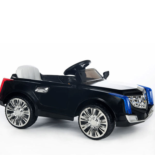 Electric Ride-on Children′s Toy Car- Remote Control Black