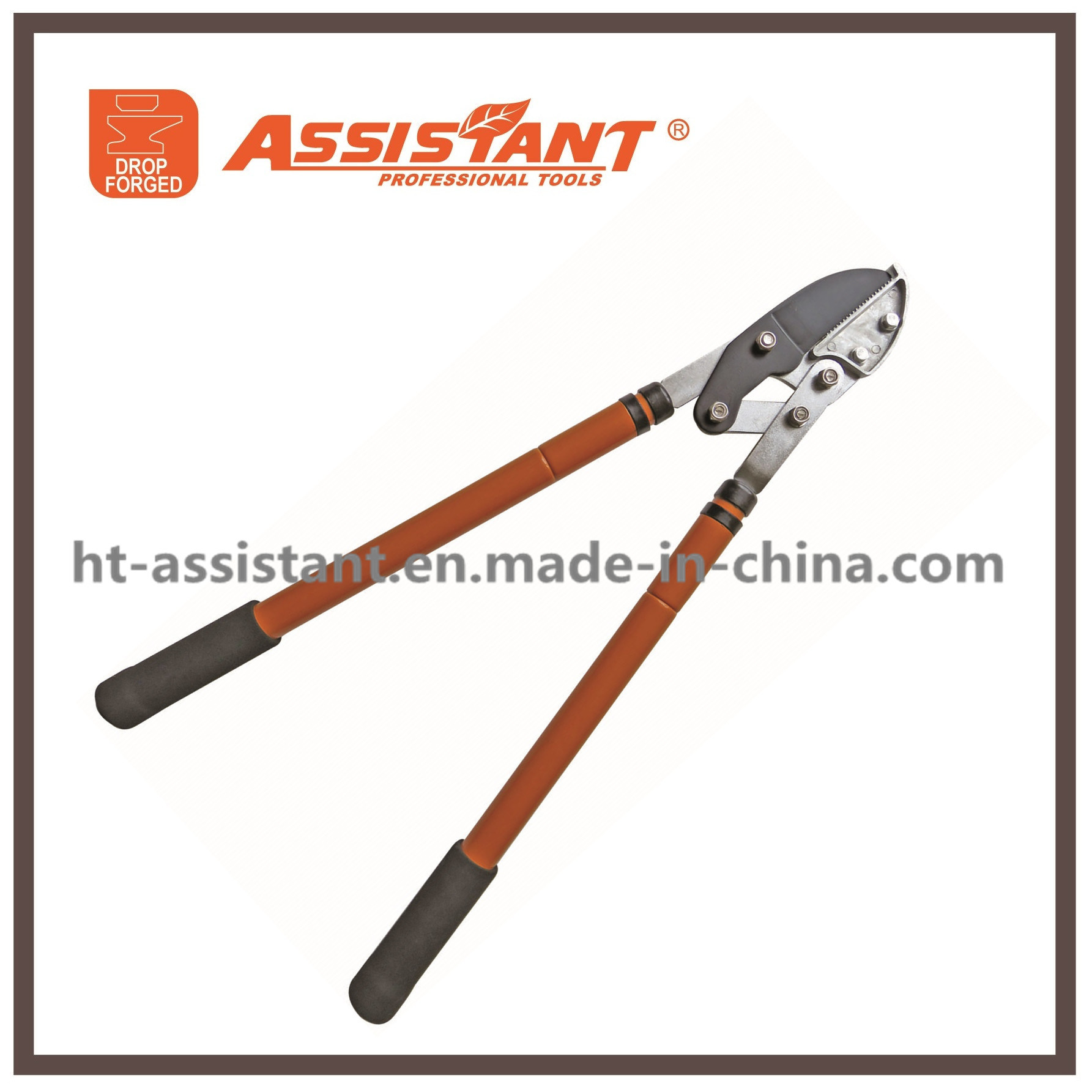 PTFE Coated Garden Lopping Shears Tree Clippers Extendable Anvil Loppers