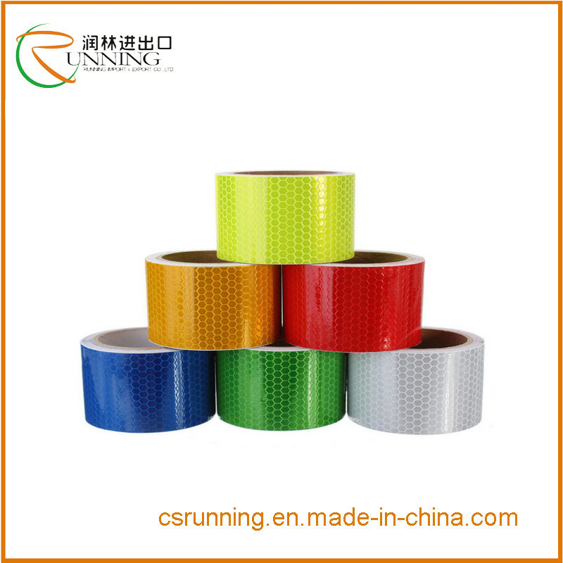 3m*10m*50mx 4.5cm Color Reflective Safety Warning Conspicuity Tape Film Sticker Roll Strip