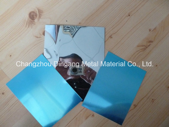 Thick Mirror Aluminum Sheet with 1.0 to 10mm)