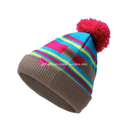 Headwear/Winter Warm Custom Beanie Cap/Promotion Knit Beanie Hat