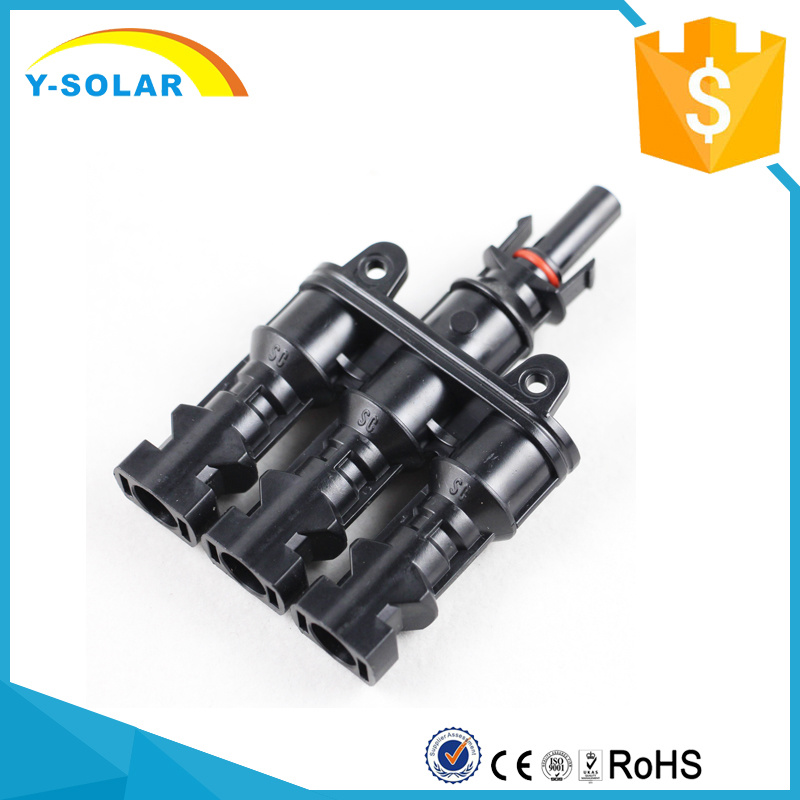 Mc4t-A2 3 to 1 TUV-1000VDC/UL-600VDC Solar Connector Branch Solar Cable