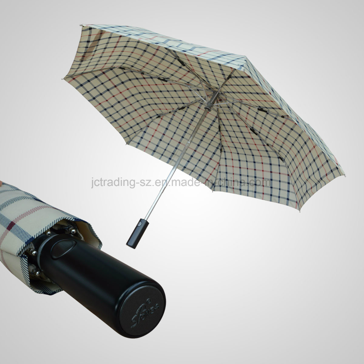 3 Fold Automatic Open&Close Lady Slim Umbrella (JF-AOC303)