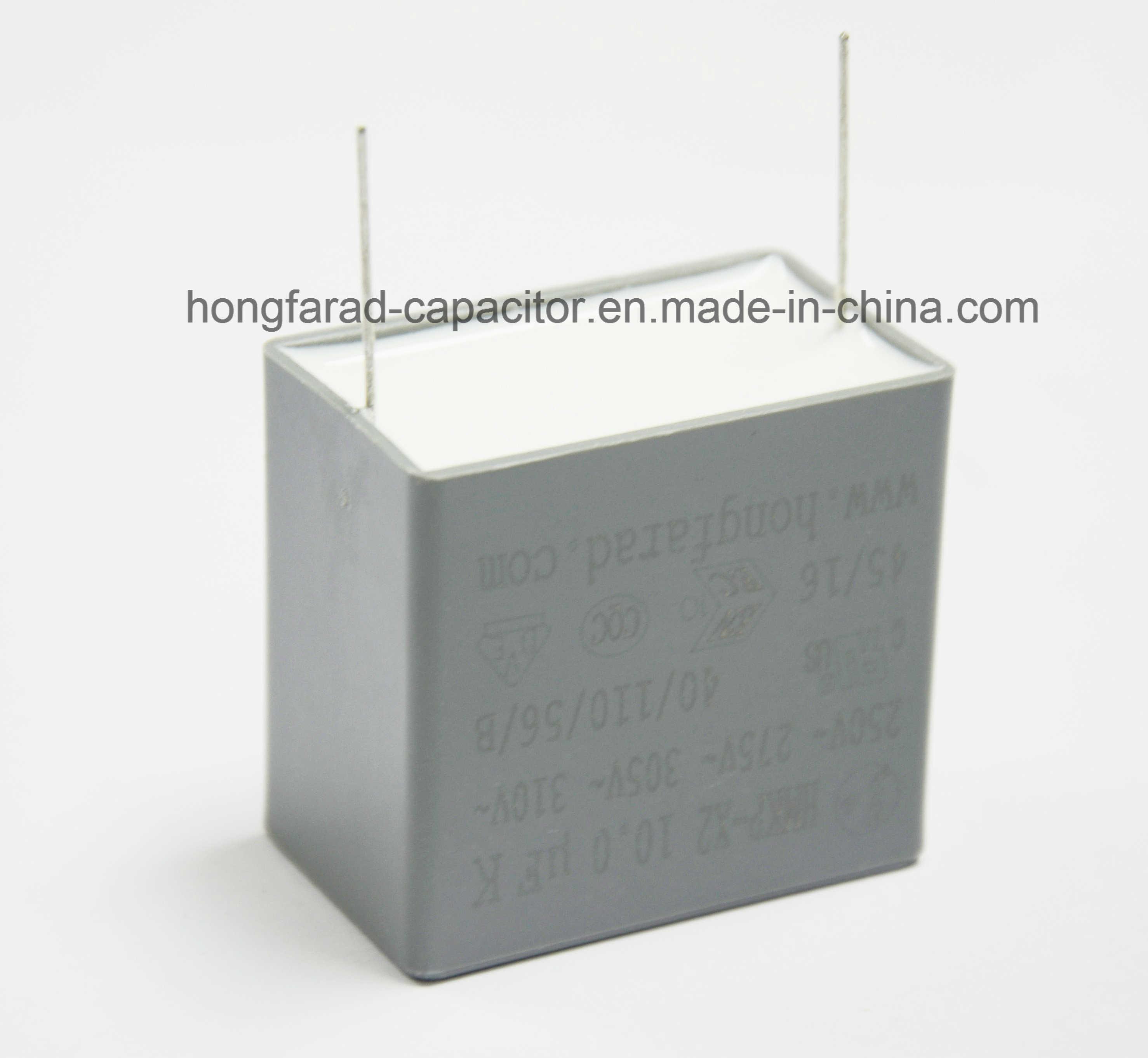 Metallized Polypropylene Film AC Capacitor Cbb62b Mkb