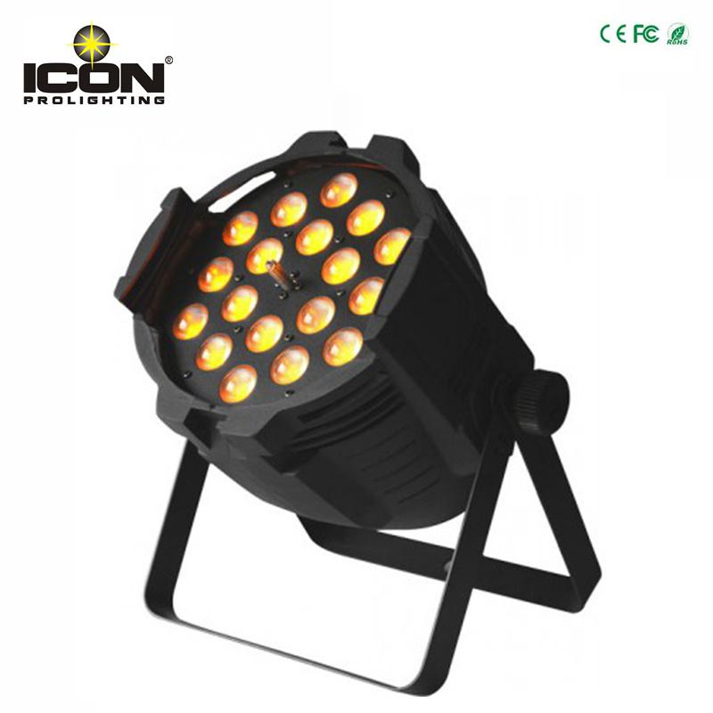 18X18W 6in1 RGBWA+UV Zoom LED PAR Light for Stage Lighting