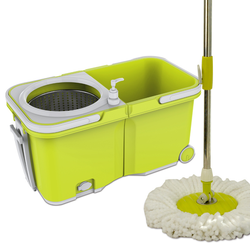 New Design Stackable &Wheels Heavy Duty Cleaning Wringer Mop Bucket