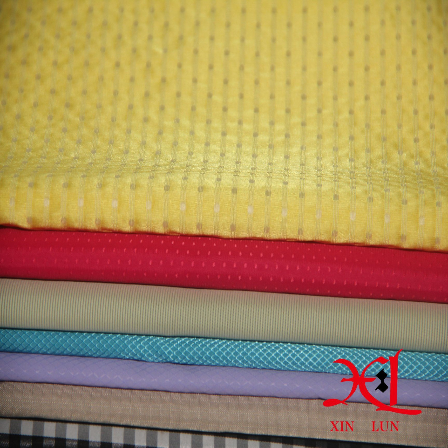 100%Nylon Lining Fabric for Dress/Jacket Lining