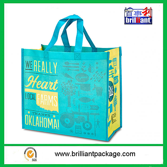 Shopping Bag, Made of Woven PP Material, Strong and Durable