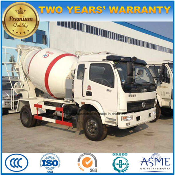 Dongfeng 4.5m3 Concrete Mixer Truck Small Cement Truckfor Sale