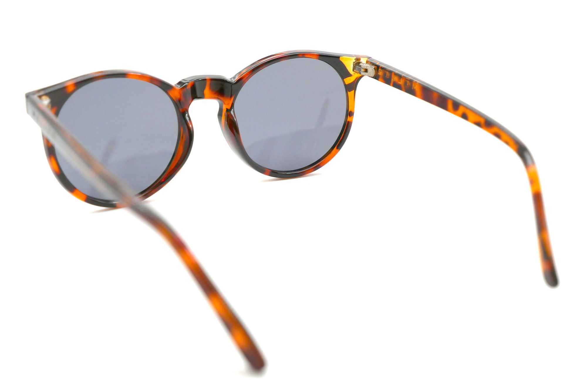 New Coming Fashion Round Demi Frame UV400 Lens Sunglasses