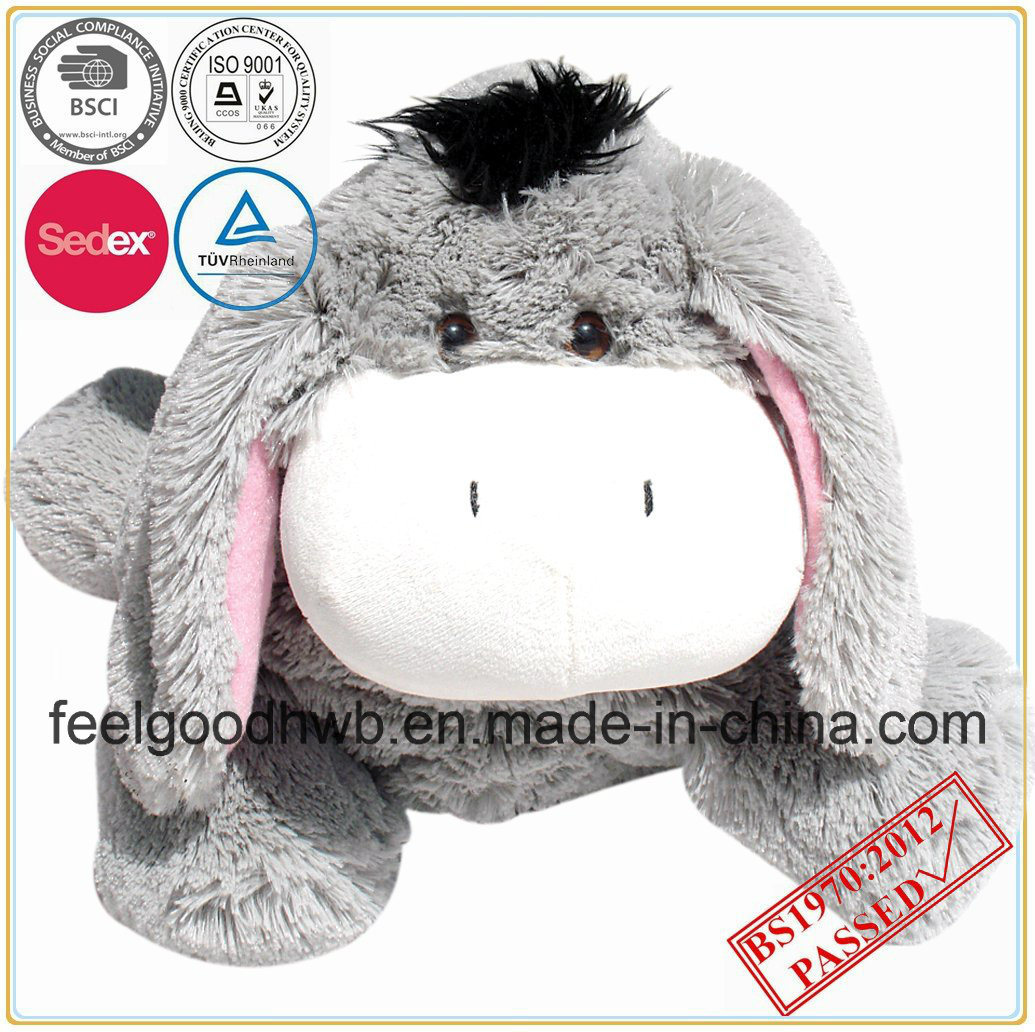 Hot Water Bottle with Novely Animal Cover