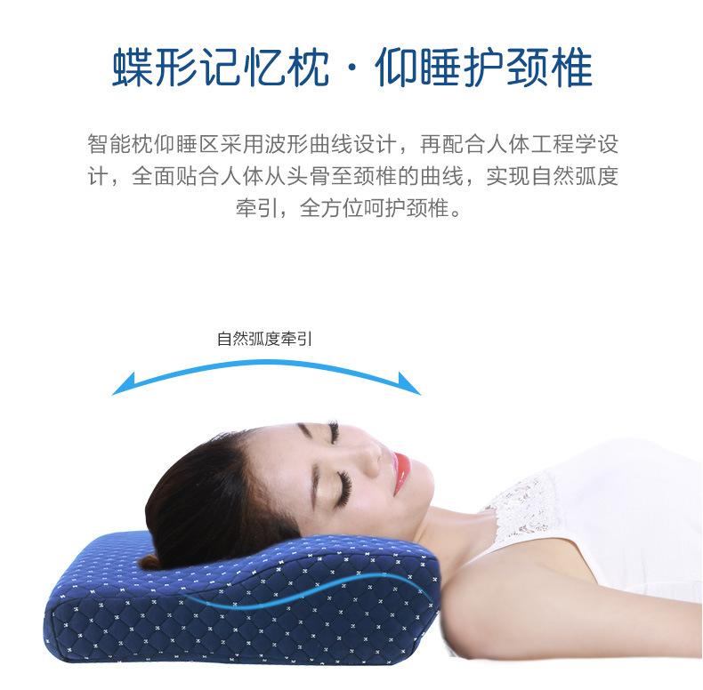 Smart Memory Foam Pillow with Smart Music Sleep Aids