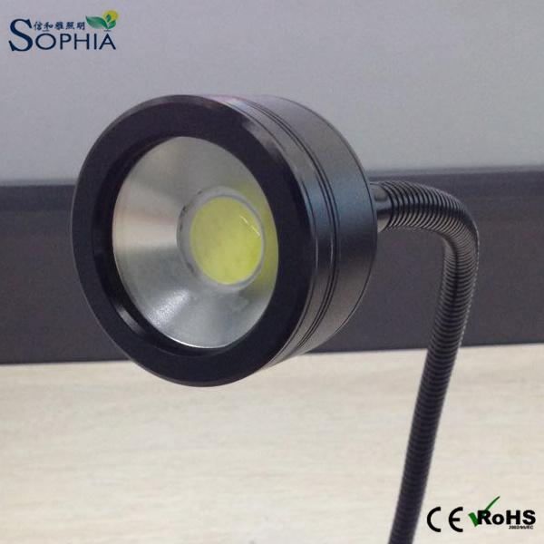12V 24V 230V 7W LED Flexible Working Light, Task Table Lamp