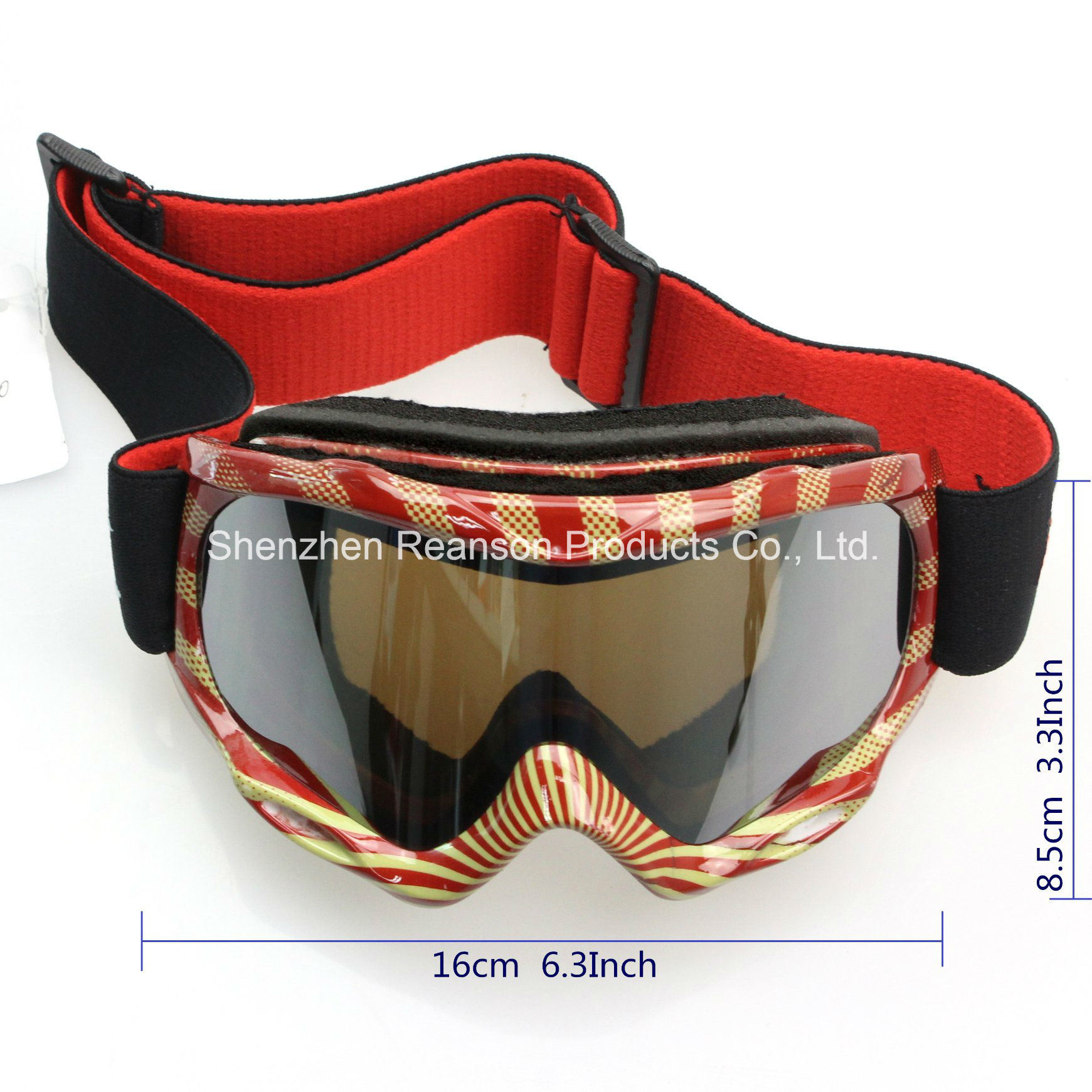 Reanson Youth Double Lenses Anti-Fog Skiing Goggles