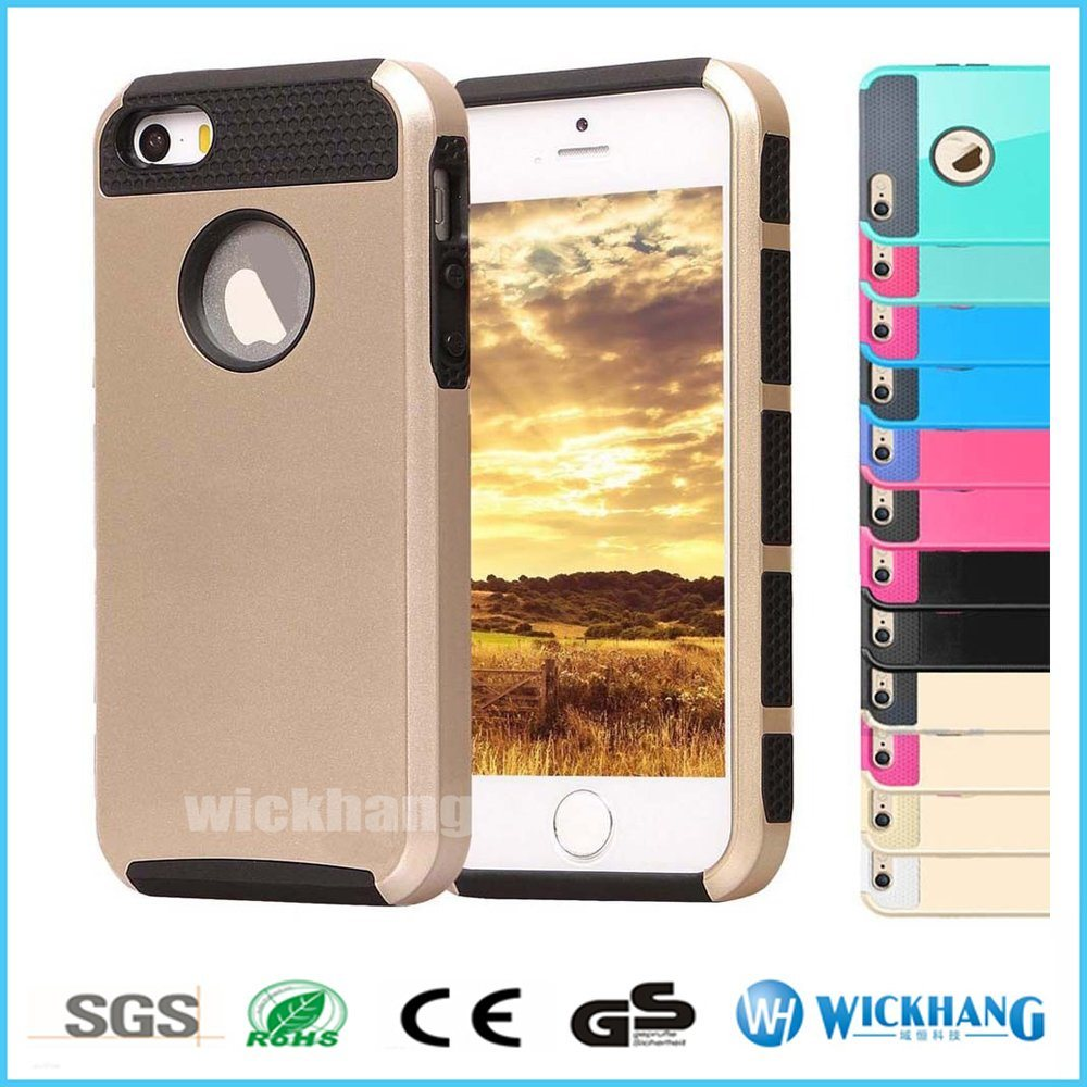 Shockproof Hybrid Rugged Rubber Case for iPhone 6 7 Plus
