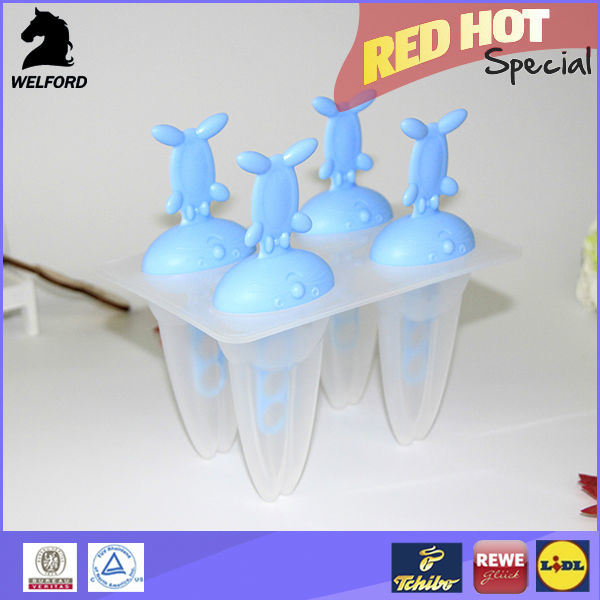 2016 New Products Shaped Popsicle Mold