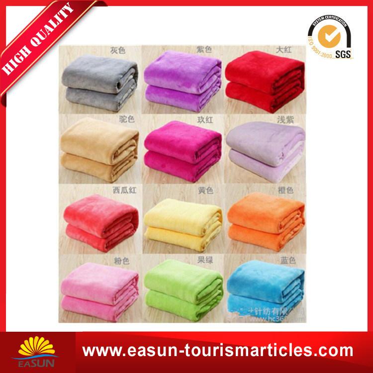 Cheap Flannel Fleece Blanket Factory China