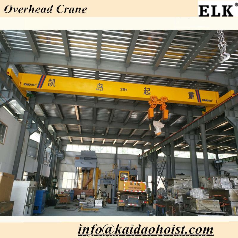 Elk 10ton Single Girder Crane / Bridge Crane / Crane Saddle