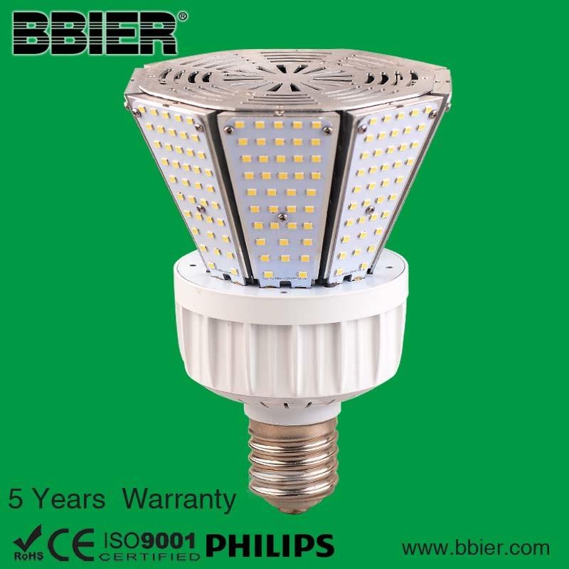 ETL UL Dlc 9600lm 80watt LED Post Top Lamp with 5 Years Warranty