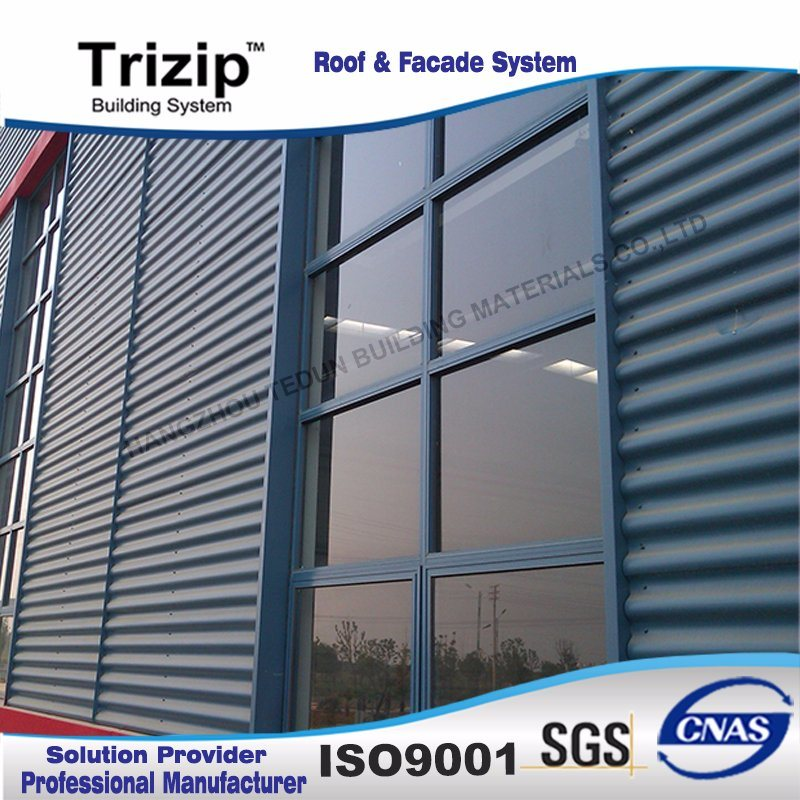 Audi 4s Shop Specially Used Corrugated Steel Panel Exterior Wall