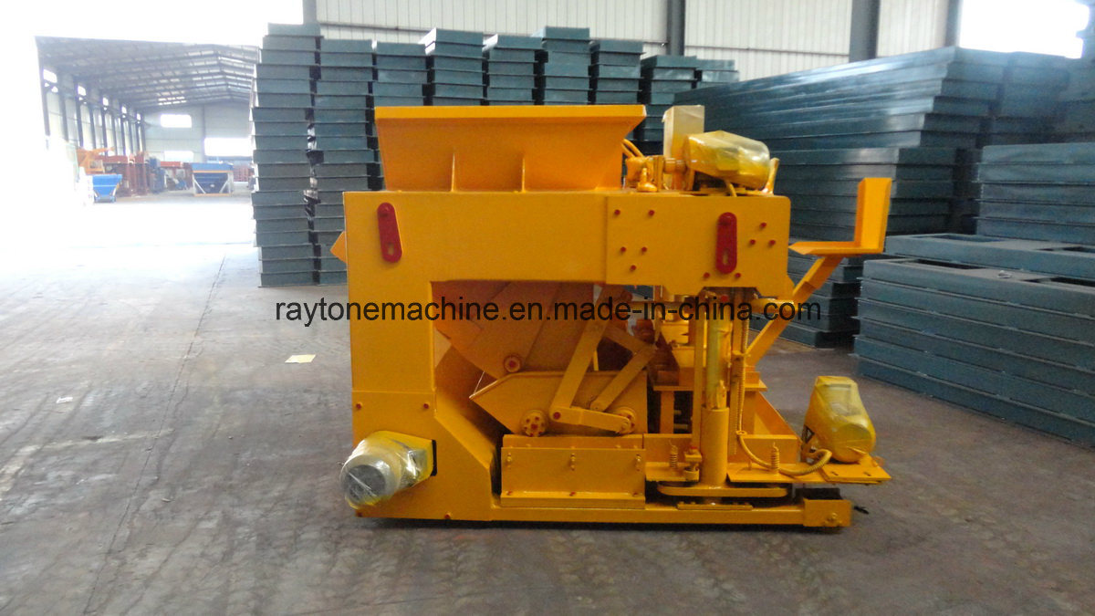Qtm6-25 Big Capacity Pallet-Free Mobile Movable Hollow Block Solid Brick Making Machine