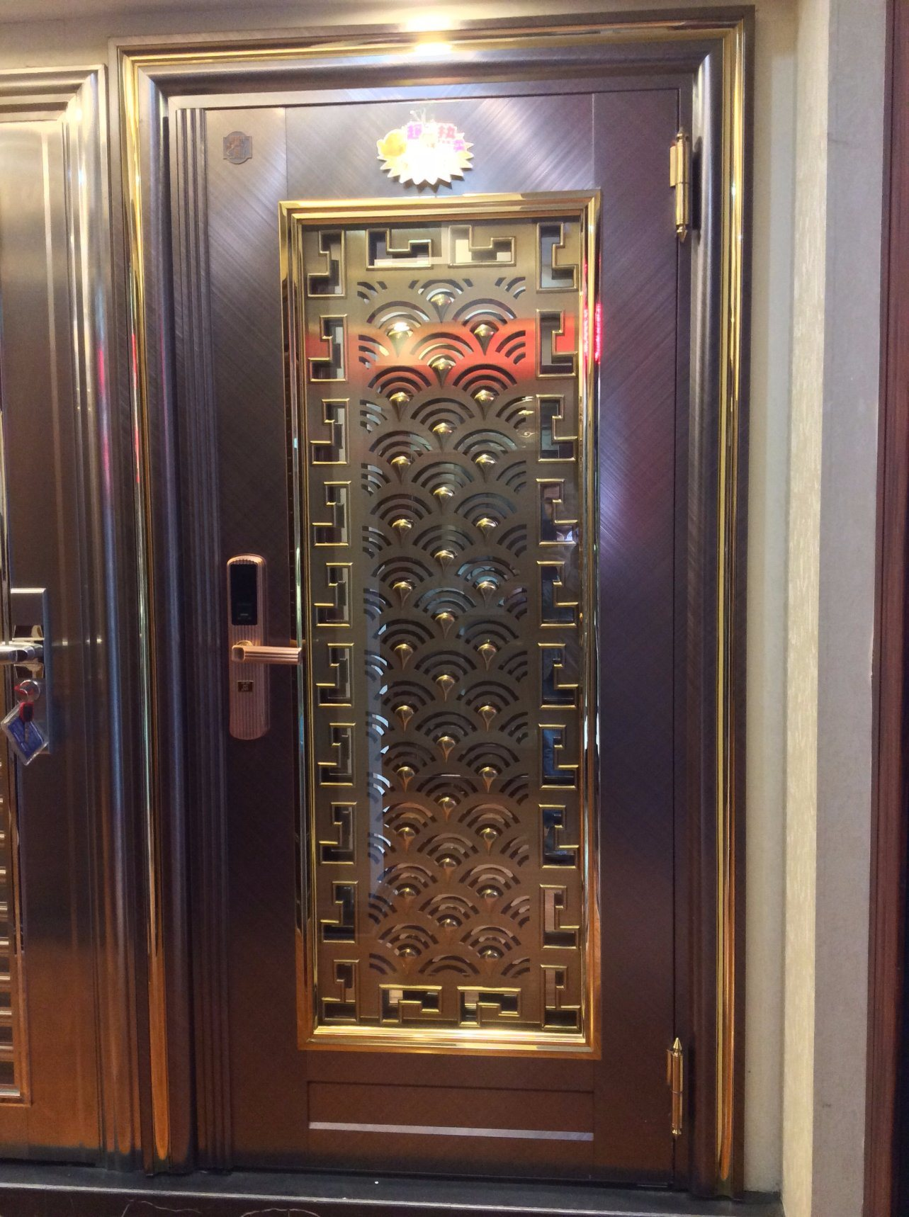 Color Stainless Steel Door for Home (S-3038)