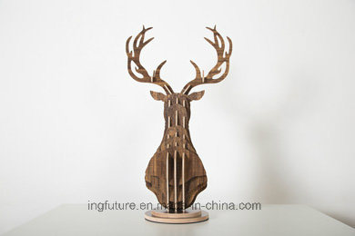 DIY Wooden Animal Home Decor Hotel Decoration